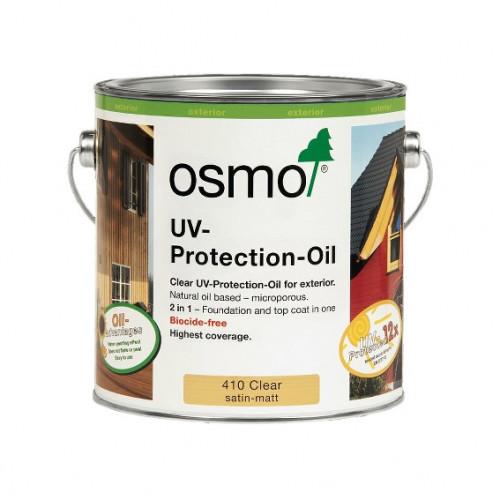 0.125ltr: Osmo - UV Protection Oil - Clear Satin - (410A)