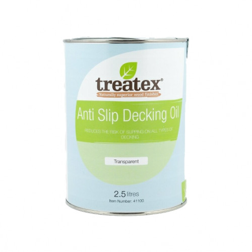 2.5ltr: Treatex - Specialist Coatings - Exterior - Anti Slip Decking Oil