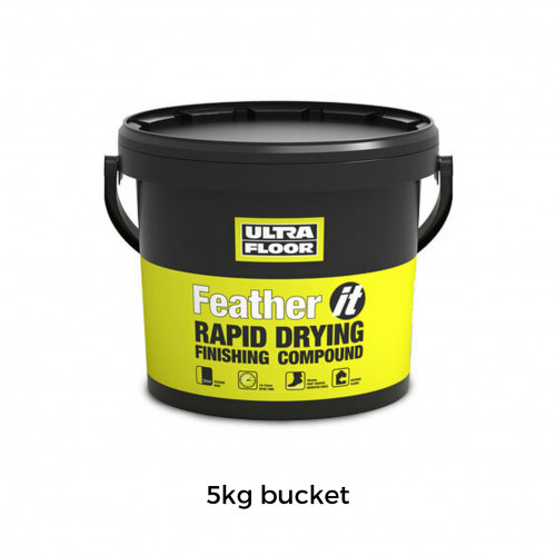 5kg Tub: Ultrafloor Feather IT Graduated Feather Finish