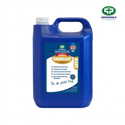 5ltr: Granwax - Granglaze - 1K Oil Modified PU Finish - Satin