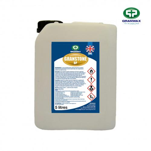 5ltr: Granwax - Granstone BP - 1K Moisture Cured Solvent Based PU Floor Seal - (UN1263)