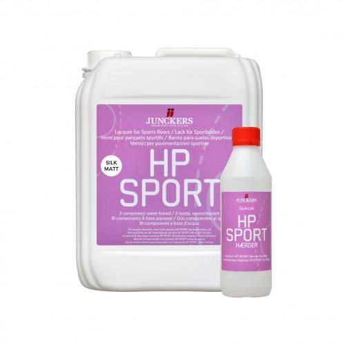 5ltr: Junckers - HP Sport - 2K Water Based PU Lacquer - SilkMatt 50% Sheen