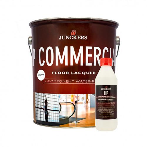 5ltr: Junckers - HP Commercial - 2K Water Based PU Lacquer - Matt 20% Sheen