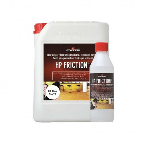 5ltr: Junckers - HP Friction Plus - 2K Water Based PU Lacquer - Anti Slip UltraMatt 10% Sheen