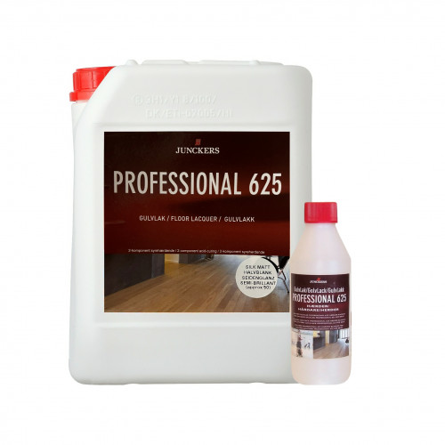 5ltr: Junckers - Professional 625 - 2K Acid Catalyst Lacquer - SilkMatt