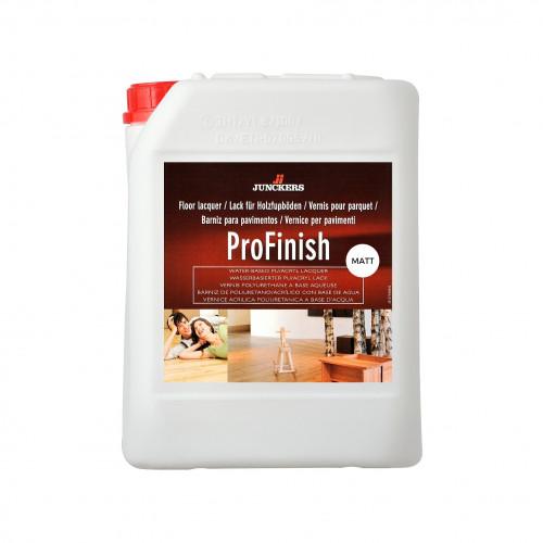 5ltr: Junckers - ProFinish - 1K Water Based Co Polymer PU Acrylic Lacquer - Matt 20% Sheen