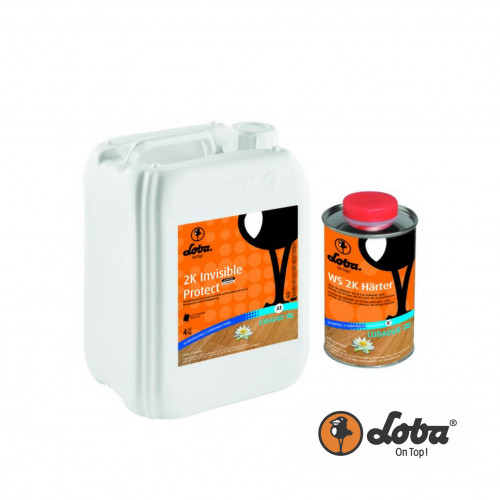 5ltr: Loba - Invisible Protect 2K - 2K Wood Floor Lacquer