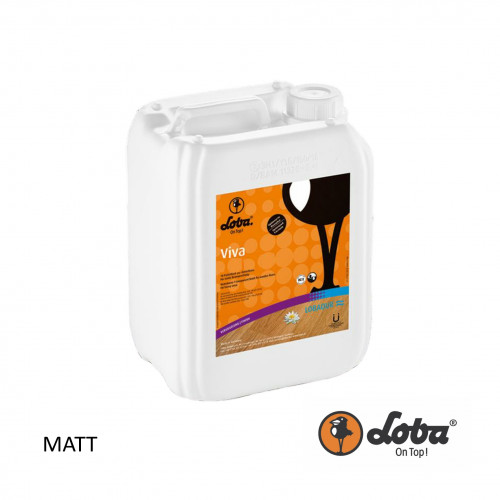 5ltr: Loba - Viva - 1K Wood Floor Lacquer - Matt