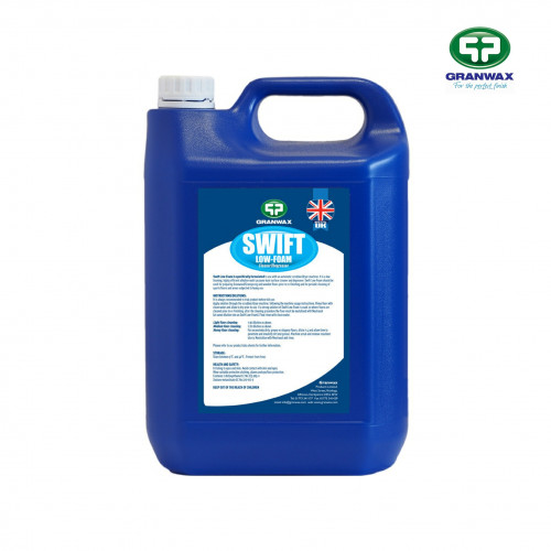 5ltr: Granwax - Swift Low Foam - Multi-Purpose Cleaner & Degreaser for use with Scrubber Driers