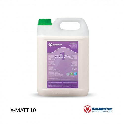 5ltr: VerMeister - Aqua Play 1 - 1K Water Based Lacquer - ExtraMatt 10% Sheen