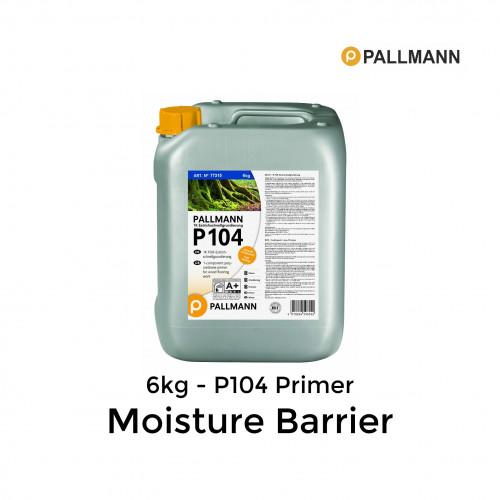 6kg Tub: Pallmann - P104 - 1K Polyurethane Primer Moisture Barrier