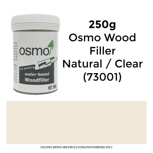250g: Osmo - Woodfiller - Clear/Natural - (73001)