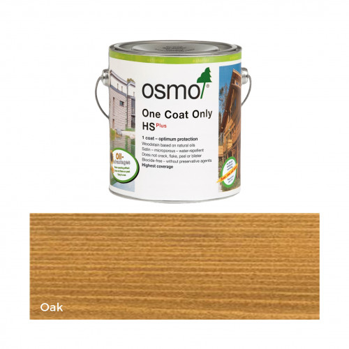0.125ltr: Osmo - One Coat Only HS Plus - Oak - (9241A)