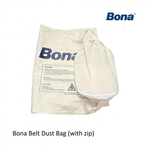 """Bona - Belt 10"""" - Replacement Dust Bag (with zip)"""