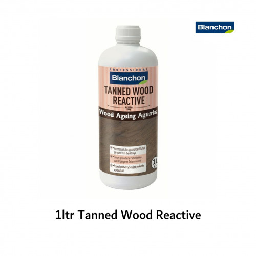 1ltr: Blanchon - Wood Ageing Agent - Tanned Wood Reactive