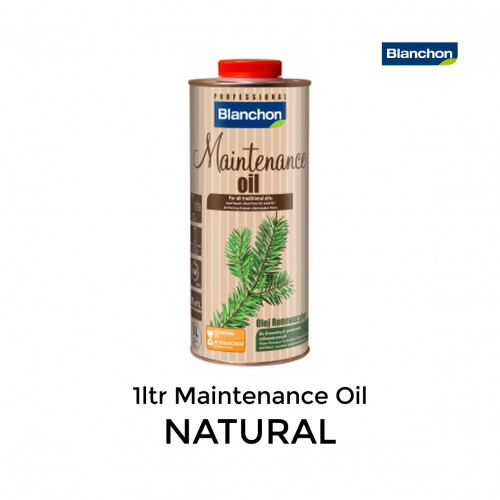 1ltr: Blanchon - Maintenance Oil - Natural