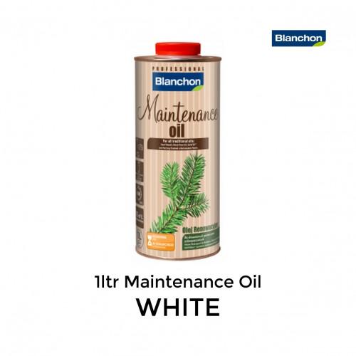 1ltr: Blanchon - Maintenance Oil - White