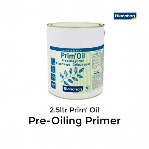 2.5ltr: Blanchon - Prim'Oil - Pre-Oiling Primer for Exotic & Difficult Wood