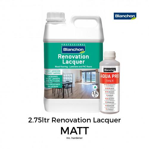 2.75ltr: Blanchon - Renovation Lacquer 2K- Matt