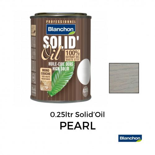 250ml: Blanchon - Solid Oil Hard Waxoil - High Solid 1-Coat Hard Waxoil - Pearl