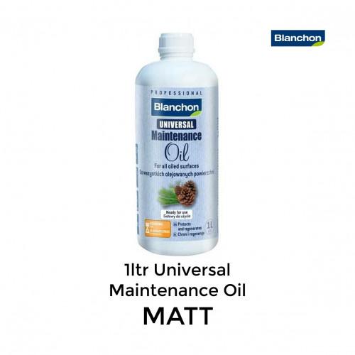 1ltr: Blanchon - Universal Maintenance Oil - Matt
