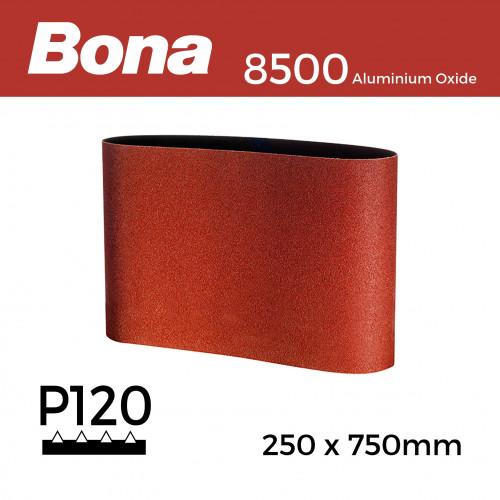 "P120 - Bona - Aluminium Oxide - Sanding Belt - 250x750mm - 10"""