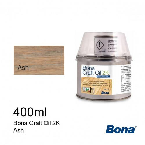 0.4ltr: Bona - Craft Oil 2K - Ash