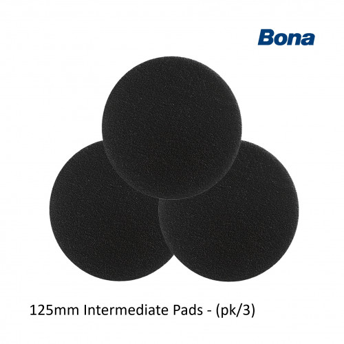 1pk: Bona - FlexiSand - Intermediate Pads - 125mm - (3/pk)