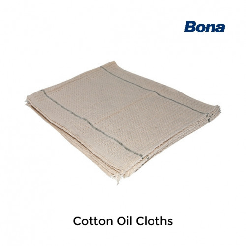 Bona - Cotton Cloth - Oiling Cloths for use with rotary buffing machines