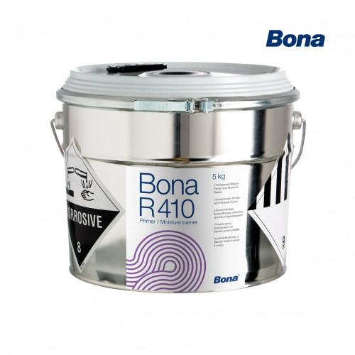 5kg: Bona - R410 - 2K Epoxy Primer/Liquid DPM for Substrates up to 5CM%