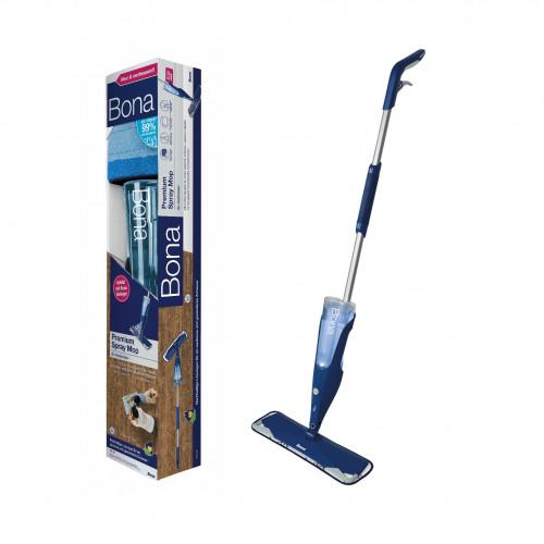 Bona - Spray Mop - Contains: Spray mop, Cleaner Cartridge & Microfibre Pad
