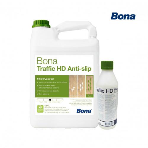 4.95ltr: Bona - Traffic HD - Anti Slip - Matt