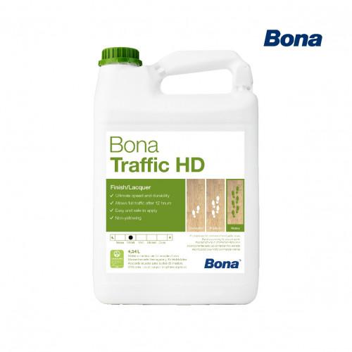4.95ltr: Bona - Traffic HD - ExtraMatt - 2K Water Based Lacquer