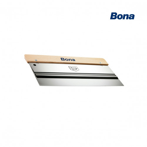 Bona - Double Blade Scraper - Stainless Steel Trowel - Rounded Edge - 270mm