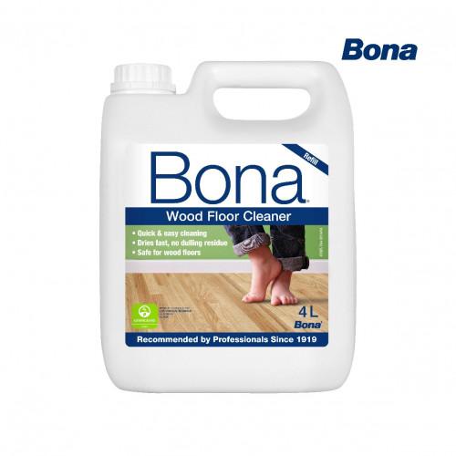 4ltr: Bona - Wood Floor Cleaner - Refill