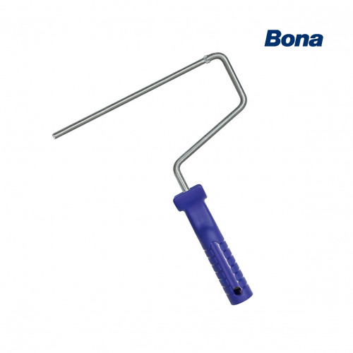 "Bona - Roller Handle - Galvanised - Push Fit System - Blue - 250mm -10"""