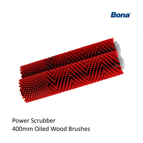 Bona - Power Scrubber - Red Brush Attachment - (2 required per machine)