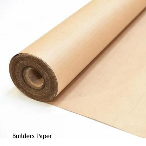 1 Roll: Reinforced Kraft Union Building Paper BS1521 - 1m x 25m - (25m²/Roll)