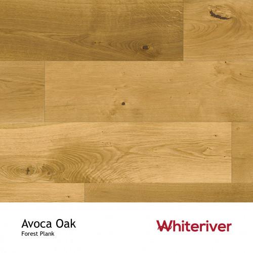 1m²: 14mm - Whiteriver - Forest - Avoca Oak - T&G Engineered Plank Flooring - Matt Lacquered - Micro Bevel 4 Sides - 14/3x190x1900mm - (2.166m²pk)