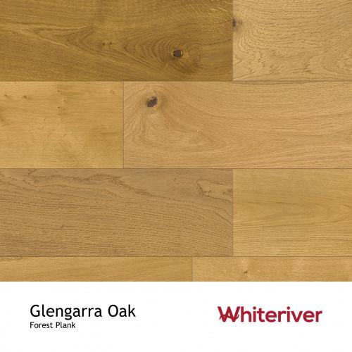 1m²: 14mm - Whiteriver - Forest - Glengarra Oak - Universal Grade - Engineered - T&G Plank Flooring - Heavy Brushed & Matt Lacquered - Micro Bevel 4 Sides - 14/3x190x1900mm - (2.166m²pk)