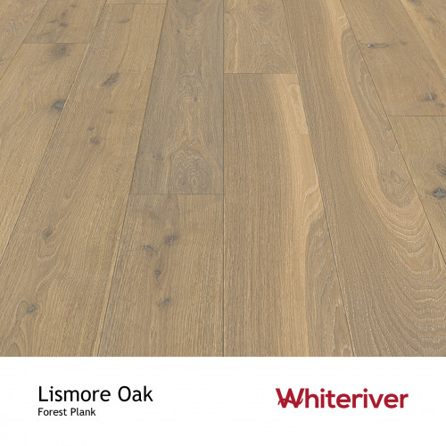 1m²: 14mm - Whiteriver - Forest - Lismore Oak - Universal Grade European Oak - Engineered - T&G Plank Flooring - Smooth, Smoked, White & UV Oiled - Micro Bevel 4 Sides - 14/3x190x1900mm - (2.