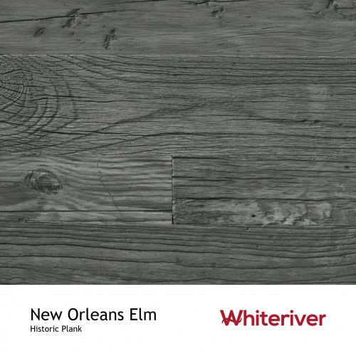 1m²: 18mm - Whiteriver - Historic Plank - New Orleans Elm - Reclaimed - Engineered - T&G Plank Flooring - Oiled - FSC Certified Plywood Base - 18/6 x 50-230 x 400-1800mm