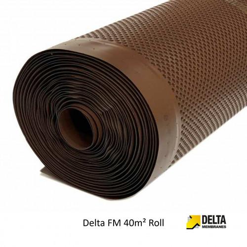 1 Roll: Delta FM Membrane - Virgin High Performance PE-VHD - 20m x 2m - (40m²/Roll)