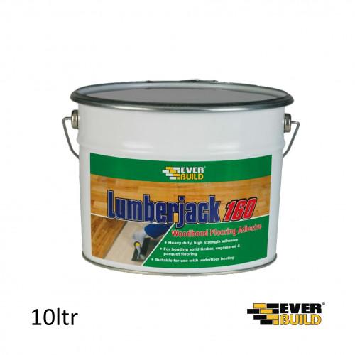 10ltr Tin: Everbuild Lumberjack 160 Woodbond *ADR UN1133 CL3 PGII*