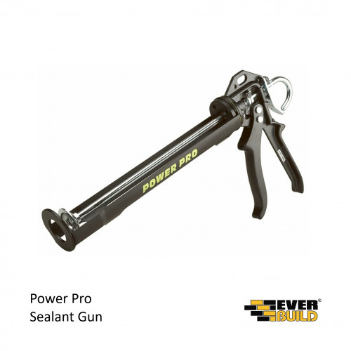 Everbuild - Sealant Gun - Power Pro C4 - For Use With 310ml & 400ml Cartridges