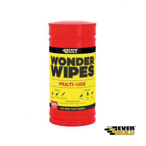 1pk: Everbuild - Wonder Wipes - Multi-Use Wipes - (100/pk)