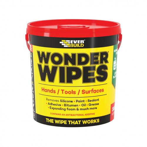 1pk: Everbuild - Wonder Wipes - Multi-Use Wipes - (300/pk)