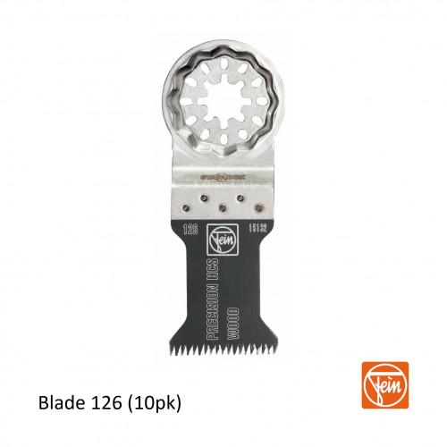 Fein - Starlock - E-Cut 126 form HCS precision saw blade - 35mm - Pack of 10