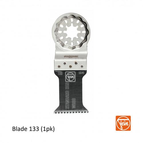 Fein - Starlock - E-Cut 133 form long life saw blade - 35mm Width x 50mm Length - Single Pack