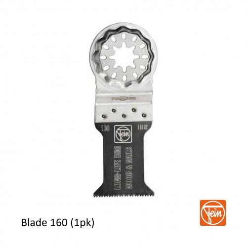 Fein - Starlock - E-Cut 160 form long-life saw blade - 35mm Width x 50mm Length - Single Pack